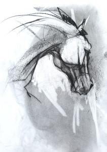 jument cheval murmureur