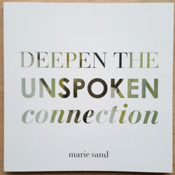 Deepen the Unspoken Connection Book