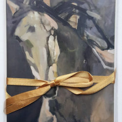 Horse Lovers Painting Portrait #2