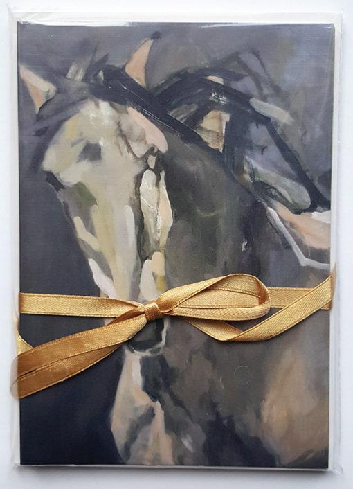 Horse Lovers Painting Portrait #2