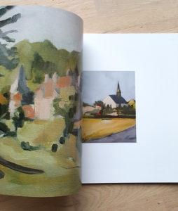 Livre d'art équestre et paysage