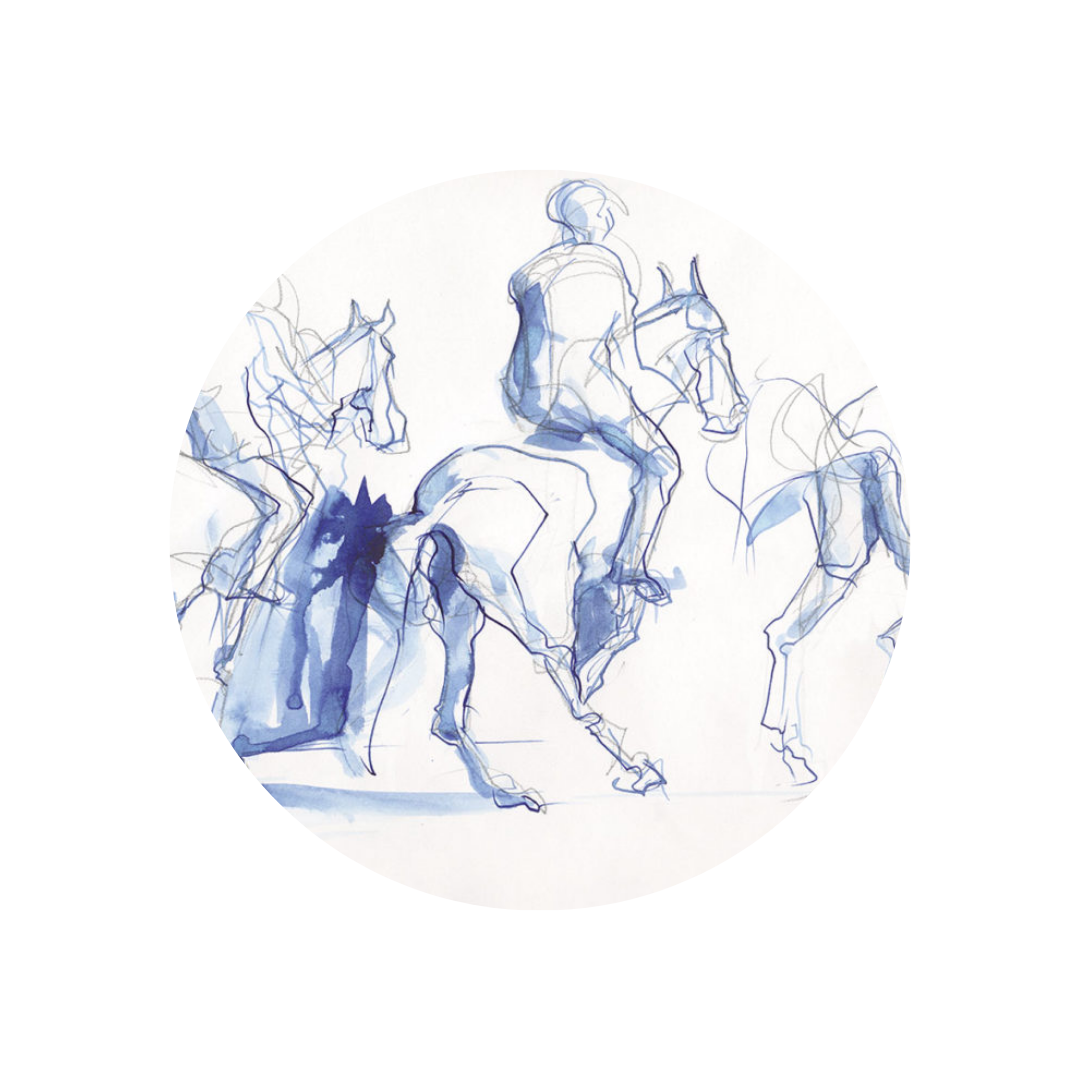 vente en ligne d'oeuvres originales : art équestre et paysages