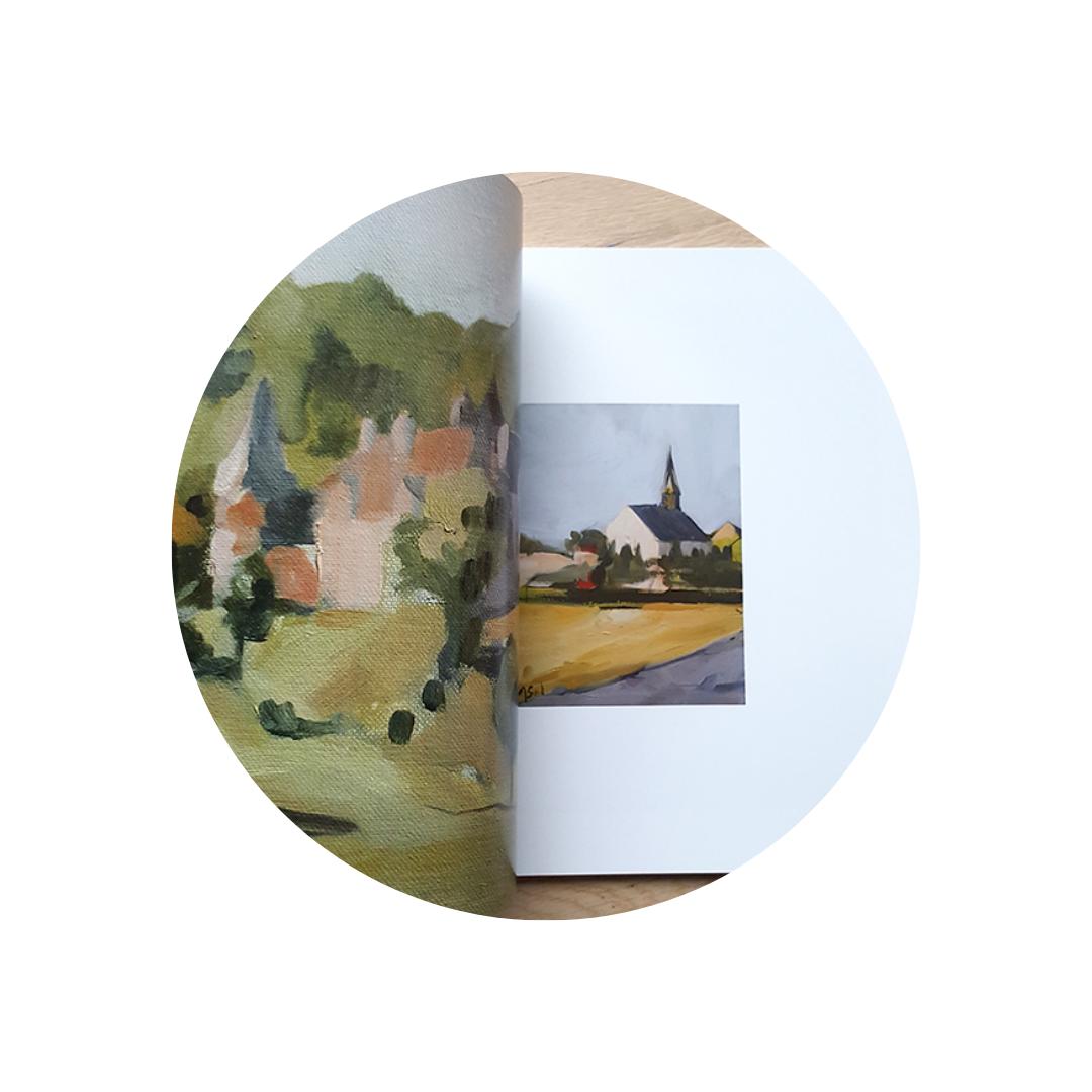 Oeuvres petits prix Marie Sand, peintre équestre