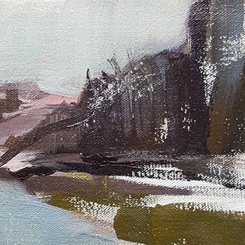 peinture paysage Marie Sand